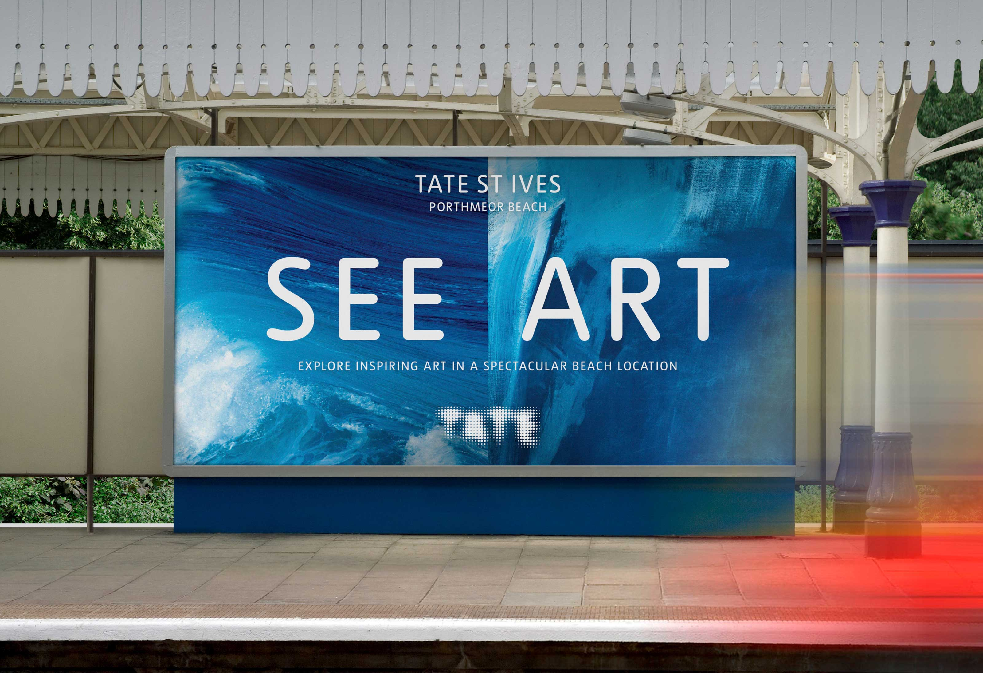A bold and playful campaign for an internationally renowned gallery