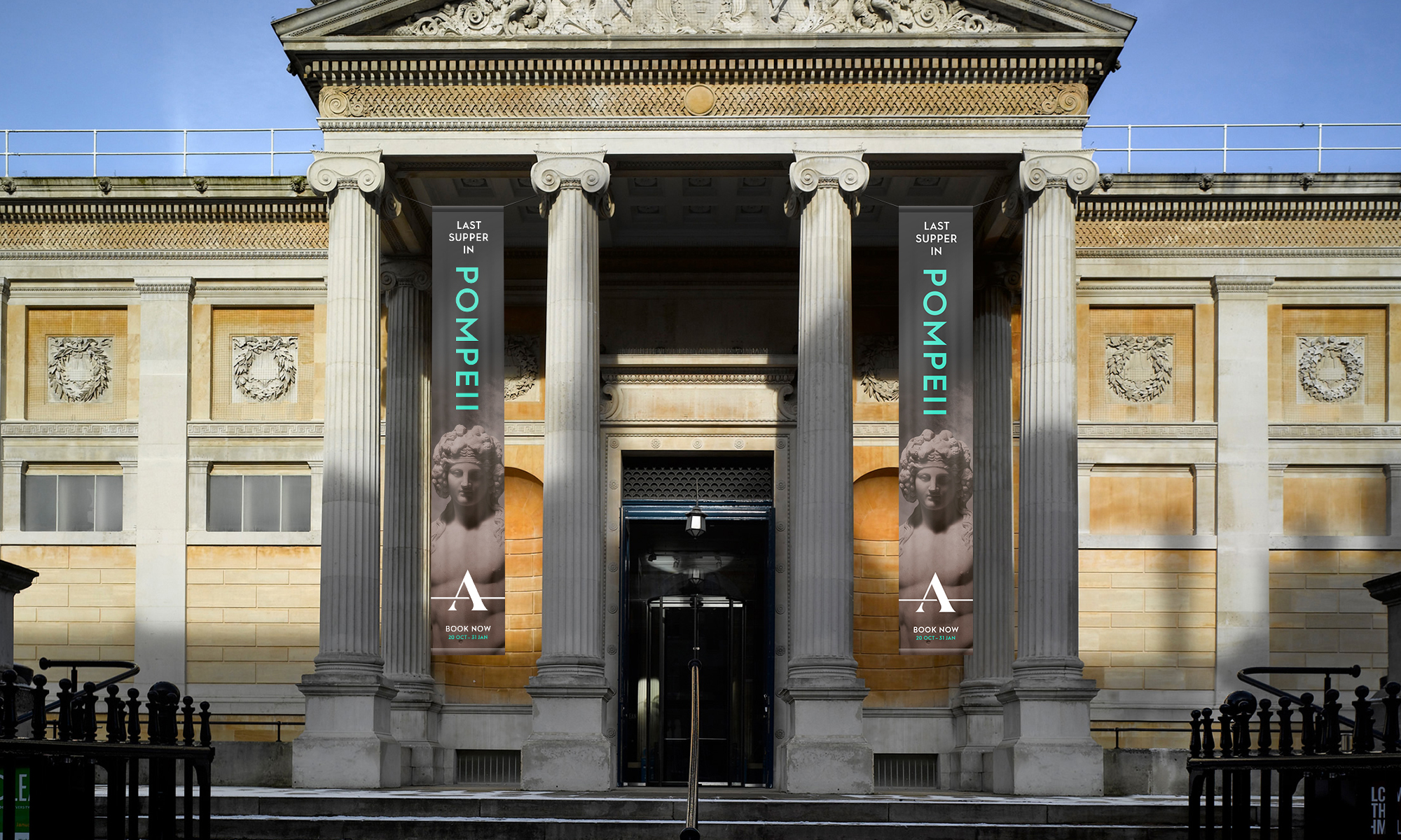 New brand identity</br> for the Ashmolean